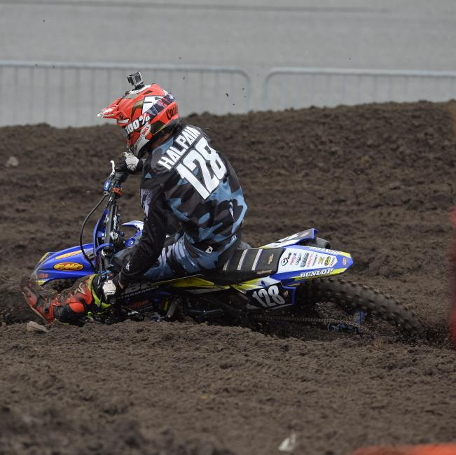 Carter Halpain found success at the World Center of Racing where he placed first in the 450 B division.
