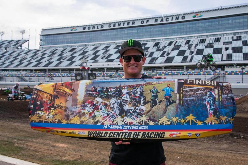The Ricky Carmichael Daytona Supercross has become one of the premier amateur events in the world.