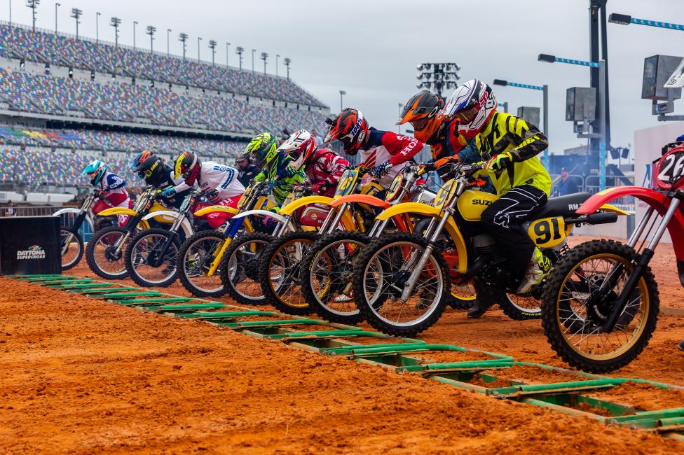 Daytona Vintage Supercross returns on Tuesday, March 10 along with AMA Pro ATV Racing.