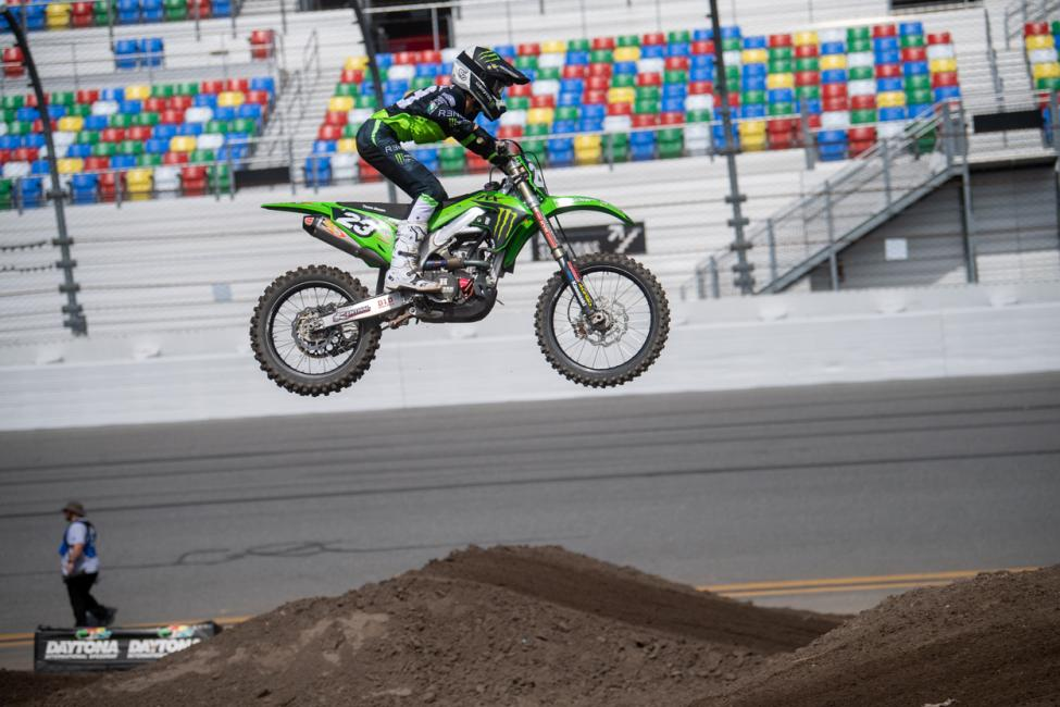 Ryder DiFrancesco went six-for-six last year at Loretta Lynn's and then made the jump to the big bikes for 2021 and didn't miss a beat. Photo: Shan Moore